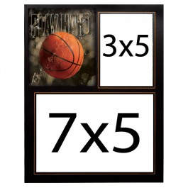 TAP-Basketball-Memory-Mate-Easel-Play-Hard-7x5-3x5-Picture-Frame