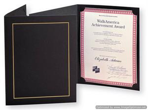 TAP Whitney 8.5x11 Professional Cardboard Certificate Award Holders