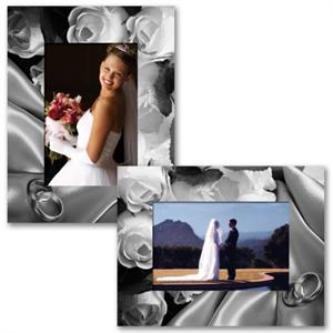 Wedding Pictures Paper Frame Easel 4x6-PF-3202