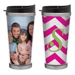 Stainless Steel 12oz Photo Travel Tumbler