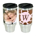 16 oz. Stainless Steel Personalized Photo Tumbler