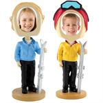 Bobbleheads Skier Custom Do-It-Yourself Bobble Head Sale Bulk Wholesale