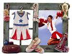 Sports 3-1/2x5 Resin Cheerleading Digital Picture Frame
