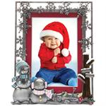 Christmas Pewter Picture Frame P8057-X14