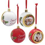 Porcelain Hanging Christmas Tree Holiday Bulb Decoration #7025X