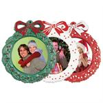 Christmas Tree Ornaments Photo Frames for 2-1/4