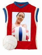 Volleyball Jersey Sports Frame 3.5x5 Athlete Photo 3517S