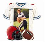 Football Jersey Sports Frame 3.5x5 Athlete Photo 3512S