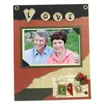 Love Picture Frames for 6x4 Photos Scrapbook - S7206