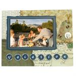 Vacation Picture Frames for 6x4 Photos Scrapbook - S7209