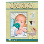 Baby Scrapbook Picture Frames for 4x6 Photos - S7212