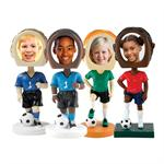 Soccer Bobbleheads Bobble Head Sports Player Athlete Wholesale Case Bulk