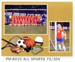 TAP Easels PM-8015 All Sports Cardboard Picture Frame Memory Mates